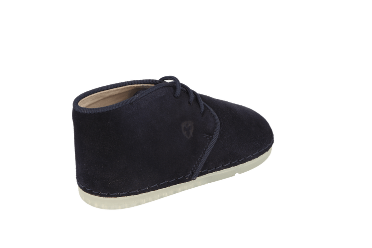 Leon Desert Boot in Atlantic Suede