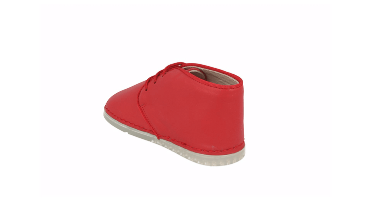 Leon Desert Boot in Tomato Leather