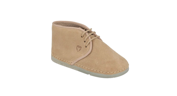 Leon Desert Boot in Sand Suede