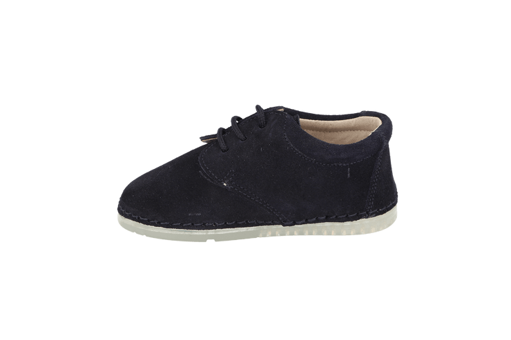 Lorca Lace Up Shoe in Atlantic Suede