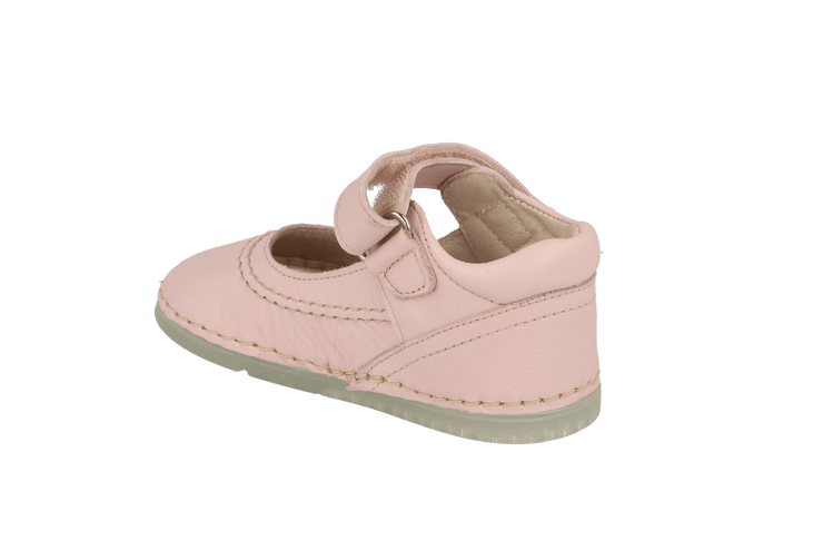 Madrid Velcro Mary Jane in Pink Leather