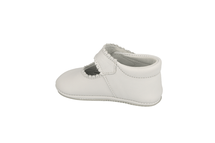 Salamanca Mary Jane in White Leather