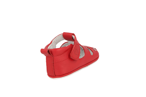 San Sebastian Sandal in Tomato Leather
