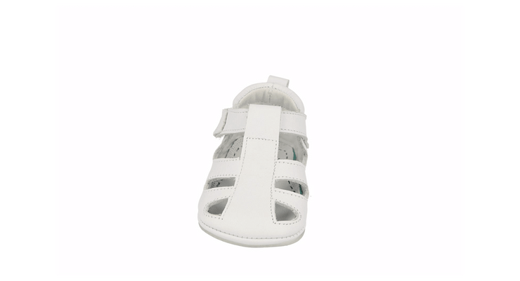 San Sebastian Sandal in White Leather