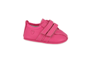 Santander Sneaker in Magenta Leather