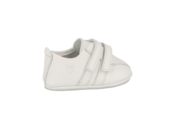 Santander Sneaker in White Leather