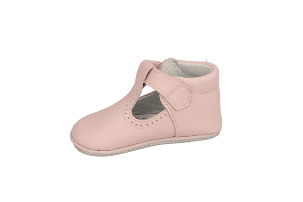 Santiago T-Bar in Pink Leather