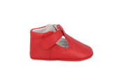 Santiago T-Bar in Tomato Leather