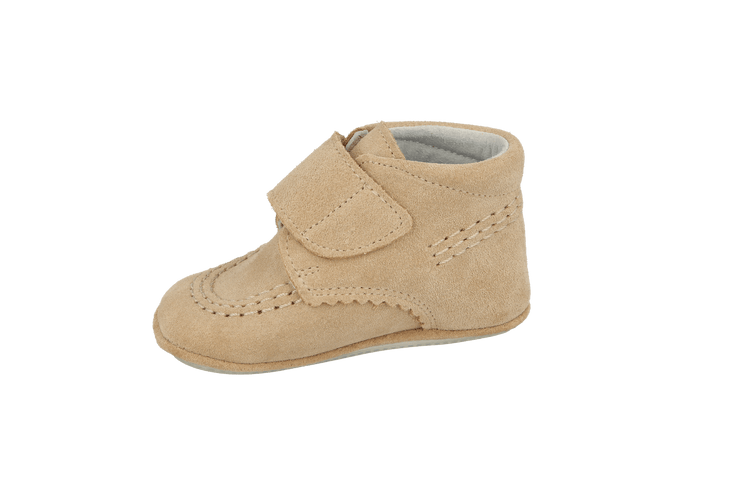 Sax Velcro Bootie in Sand Suede