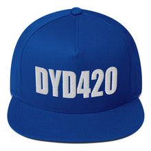 Load image into Gallery viewer, DYD420 Flat Bill Snapback