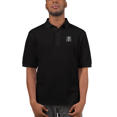 Good Eats 420 Men's Premium Polo Shirt