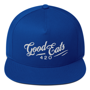 Good Eats 420 Wavy Flat Bill Snapback