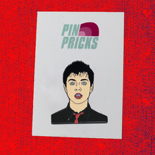 Load image into Gallery viewer, Billie Joe Armstrong Enamel Pin Badge