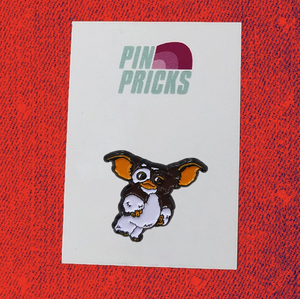 Gizmo - Festive Enamel Pin Badge