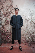 Load image into Gallery viewer, DEATH BLOSSOM FADING HEM COAT