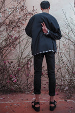 Load image into Gallery viewer, DEATH BLOSSOM FADING HEM JACKET
