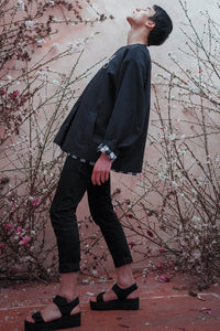 DEATH BLOSSOM FADING HEM JACKET - Boy Mode