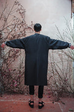 Load image into Gallery viewer, DEATH BLOSSOM FADING HEM COAT - Boy Mode