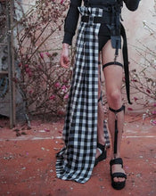 Load image into Gallery viewer, SUPER GINGHAM DECONSTRUCTED HALF SKIRT - TYPE M (PRE-ORDER) - Boy Mode
