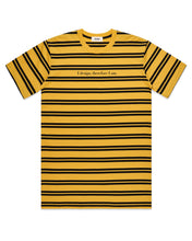 Load image into Gallery viewer, DESIGN PHILOSOPHY T-SHIRT IN YELLOW STRIPES (PRE-ORDER) - Boy Mode
