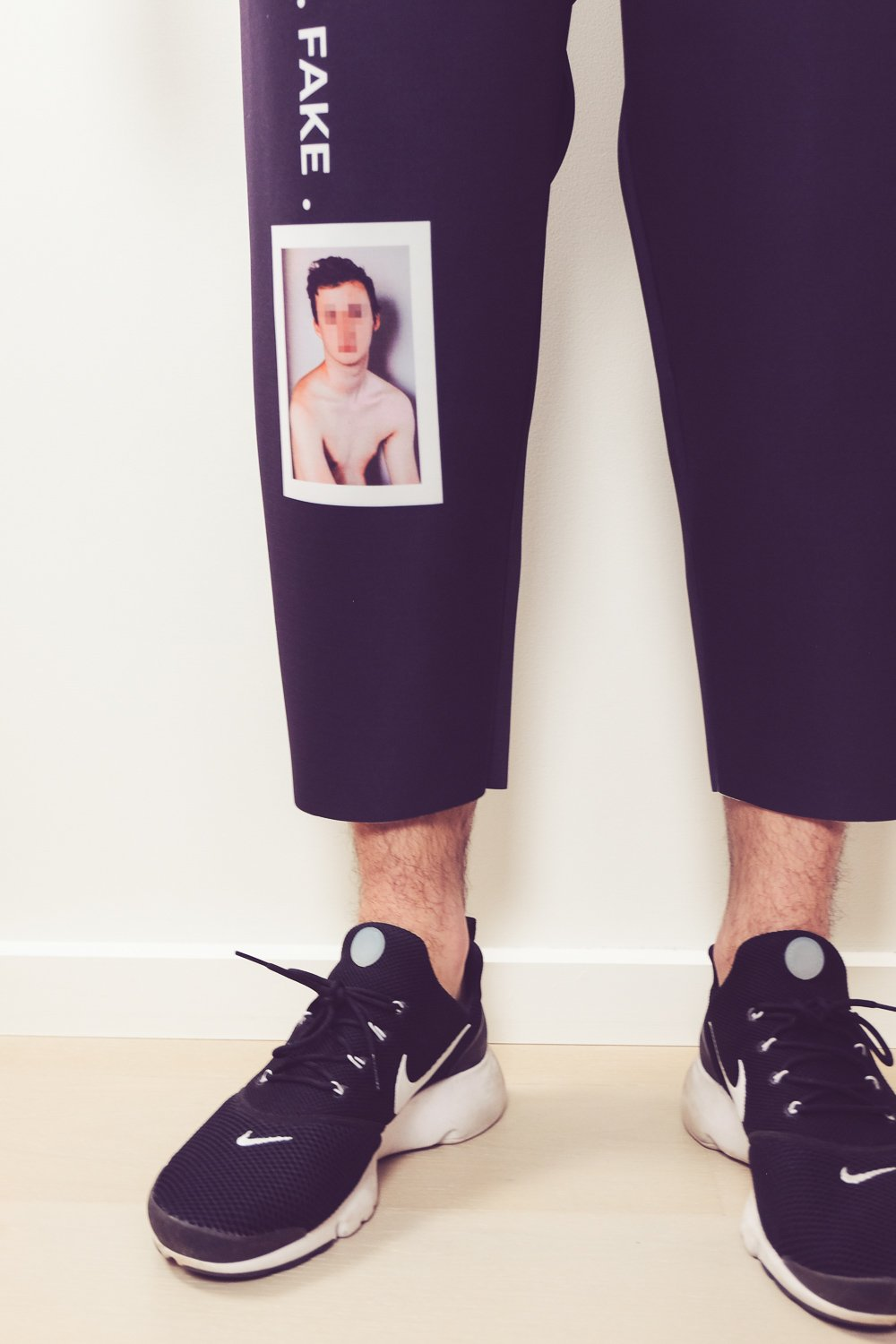 FAKE BOY NEOPRENE CROPPED JOGGERS - Boy Mode