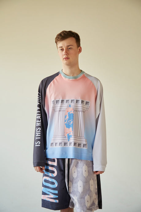 EXISTENTIAL DAVID LONG SLEEVE TEE