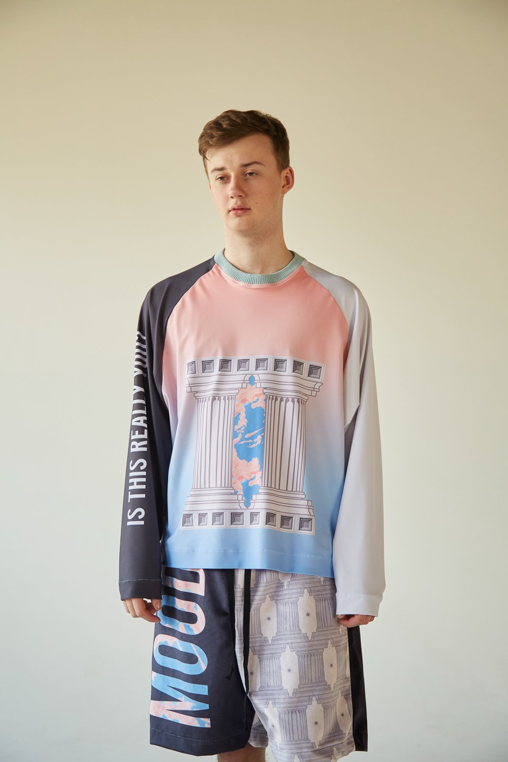 EXISTENTIAL DAVID LONG SLEEVE TEE - Boy Mode