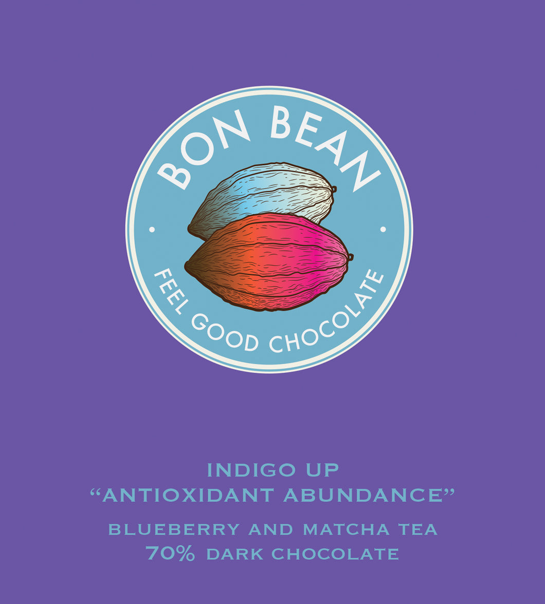 Bon Bean Indigo Up