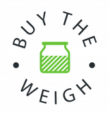 logo for Buy the weigh refill shop in Ticehurst, UK