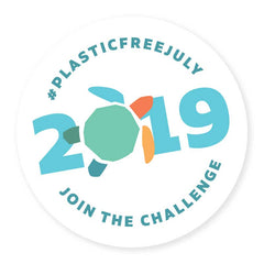 click here to sign up to Plastic free july