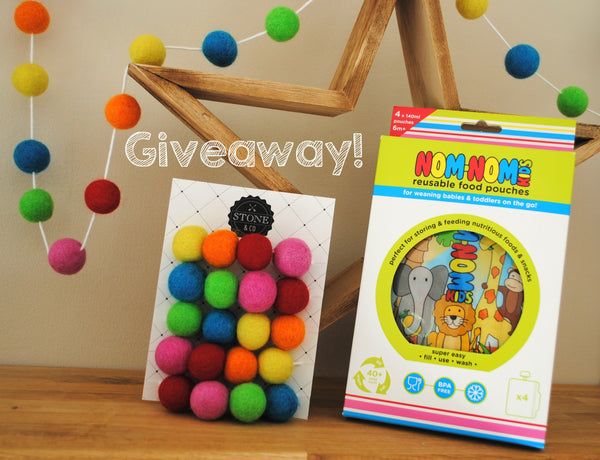 giveaway nomnomkids stoneandco