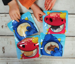 10 Reusable snack bags by Nom Nom Kids