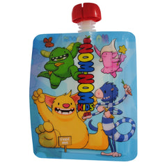 Monster Reusable Food Pouch x 4 pouches