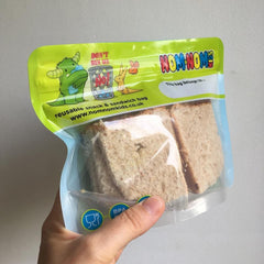 Pack of 4 Reusable Sandwich bags by Nom Nom Kids
