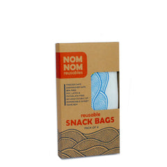 4 WAVE reusable snack bags