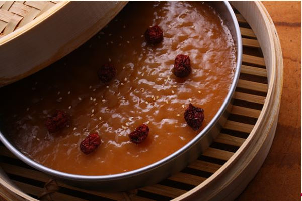 Steamed 'Nian Gao'