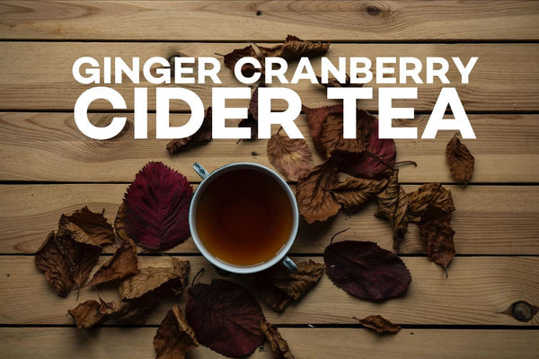 Ginger Cranberry Cider Tea
