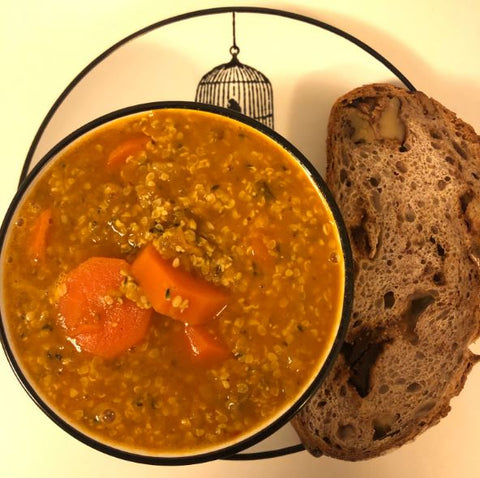 Lentil Ginger Stew Recipe