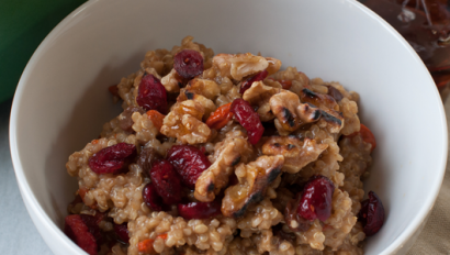 Instant Goji Berry Ginger Oatmeal