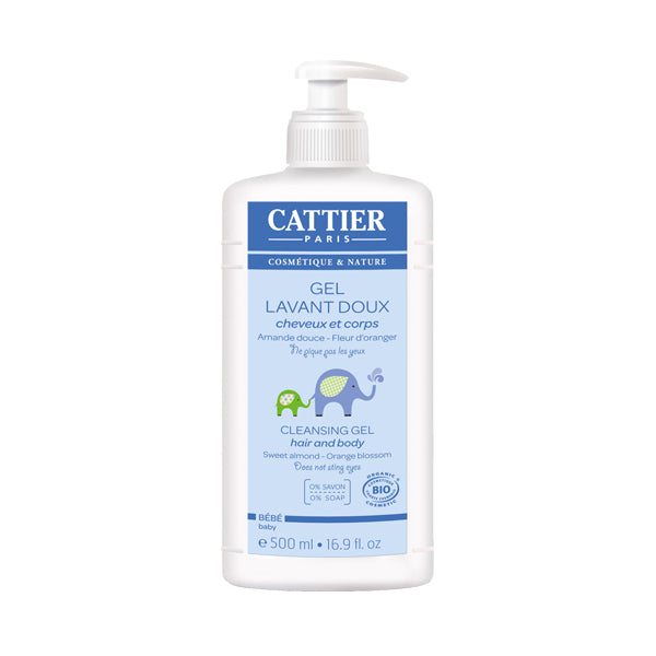 Cattier Baby Hair & Body Cleansing Gel