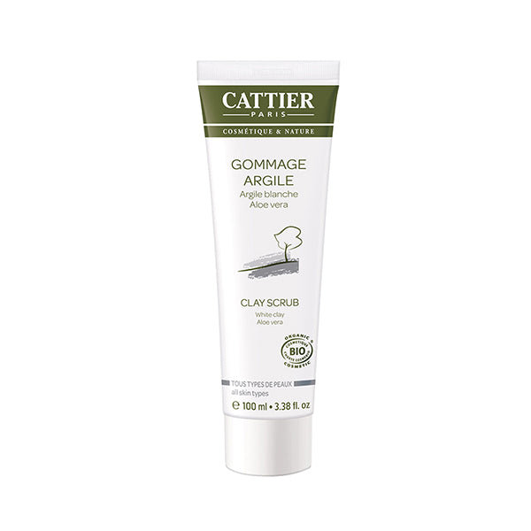 Cattier All skin White Clay Scrub 100ml