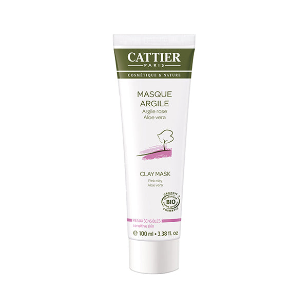 Cattier Face Mask - Pink Clay 100ml