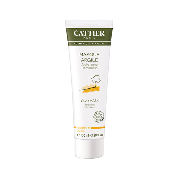 Cattier Face Mask - Yellow Clay 100ml