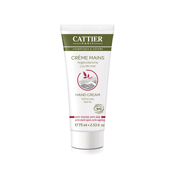 Cattier Hand Cream Anti-dark spots