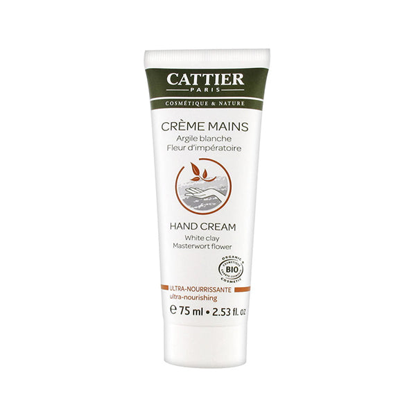 Cattier Hand Cream Ultra Nourishing 75ml