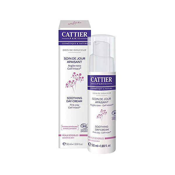 Cattier Sensitive Soothing Day Cream 50ml