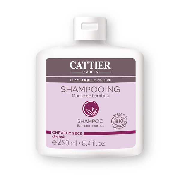 Cattier Shampoo Bamboo extract Dry hair 250ml