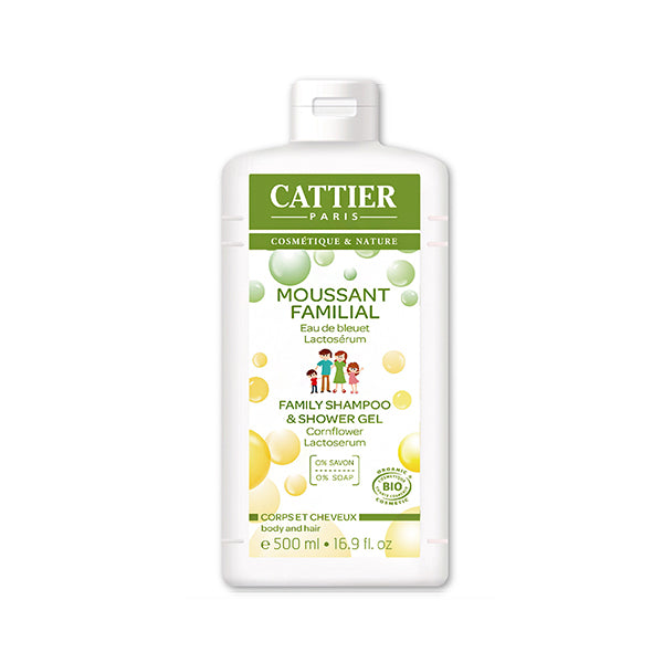 Cattier Family Shampoo and Shower Gel 500ml