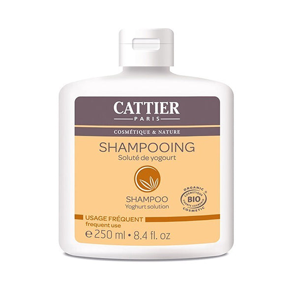 Cattier Shampoo Yoghurt Frequent Use 250ml