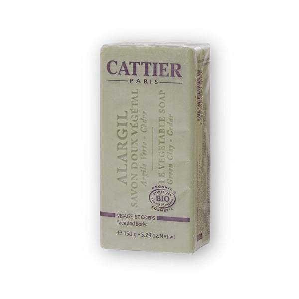 Cattier Veg Soap Green Clay (Cedar)